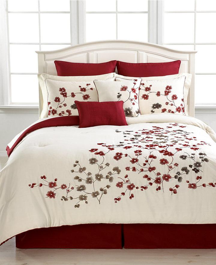 Victoria Classics CLOSEOUT! Laurel 8 Piece Queen Comforter Set