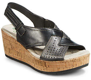 HBC PLANET BY EARTH Dawson Novelty Wedge Sandals