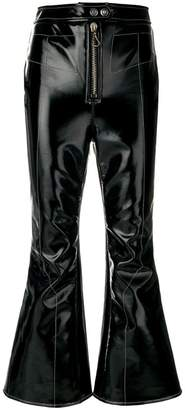Ellery Sipsi cropped flared trousers