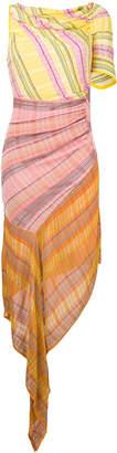 Peter Pilotto one-shoulder striped dress