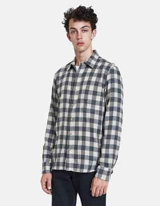 Rogue Territory Traveler Shirt in Grey/Khaki Plaid