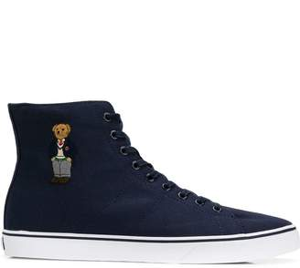 7387f95a9ab Ralph Lauren Polo Canvas Trainers - ShopStyle UK