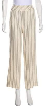 Akris Striped High-Rise Pants