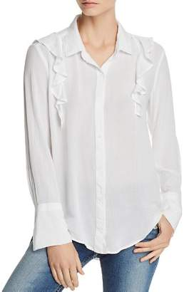 Bella Dahl Ruffled Shirt