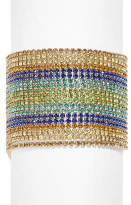 BaubleBar Multi Strand Crystal Bracelet