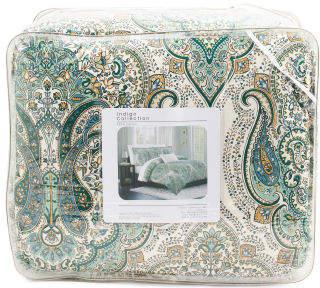 5pc Salma Paisley Comforter Set
