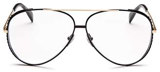 Moschino Women's 007 Aviator Sunglasses, 61mm