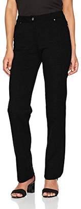 Damart Women's Pantalon Perfect Fit Maille Milano Trousers,W30/L32