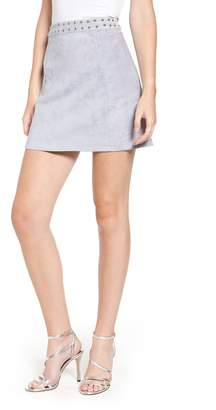 Endless Rose Faux Suede Miniskirt
