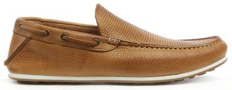 Daniel Bargoed Tan Leather Perforated Loafer