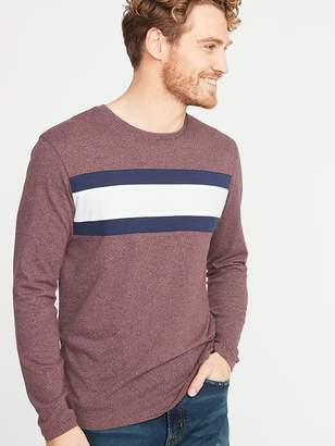 Old Navy Soft-Washed Color-Block Chest-Stripe Tee for Men
