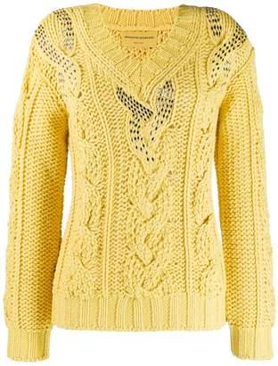 Ermanno Scervino cable knit jumper
