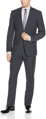 Kenneth Cole New York Men's Two Button Side Vent Suit
