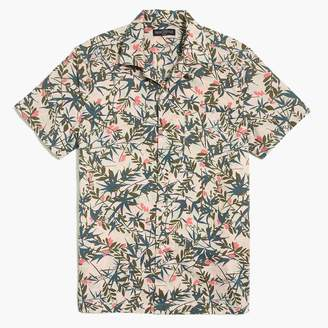 J.Crew Printed camp collar casual shirt
