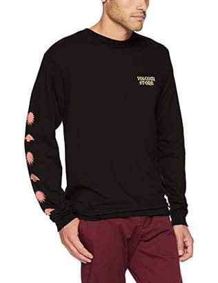 Volcom Men's Dooby Tron Basic Fit Long Sleeve Tee