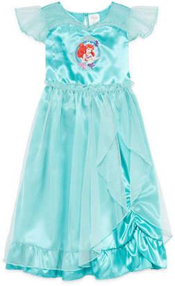 Disney Ariel Collection Short-Sleeve Little Mermaid Gown