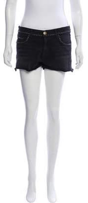 Current/Elliott The Boyfriend Denim Shorts Black The Boyfriend Denim Shorts