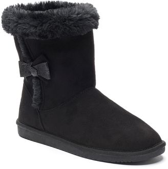 SONOMA Goods for LifeTM Girls' Soft Pull-On Boots $49.99 thestylecure.com