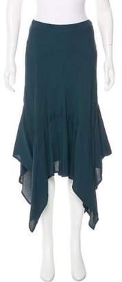 Saint Laurent Vintage Midi Skirt