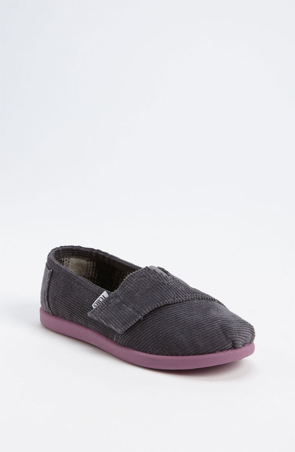 Toms 'Classic - Tiny' Corduroy Slip-On (Baby, Walker & Toddler)