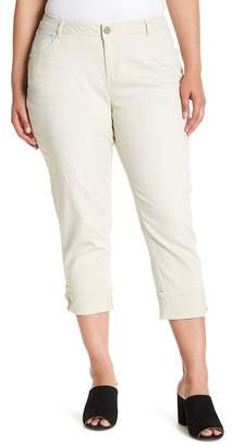 Democracy Flex-Ellent Crop Jeans (Plus Size)