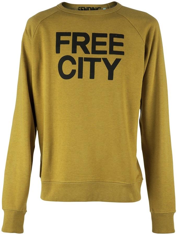 Freecity Free City CREW NECK SWEATSHIRT