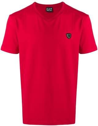 Emporio Armani Ea7 logo appliqué T-shirt