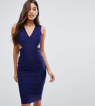 Vesper Cut Out Midi Dress with Open Back