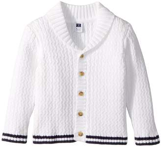 Janie and Jack Shawl Collar Cardigan Boy's Sweater