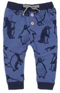 Catimini Baby Boy's Printed Fleece Pants