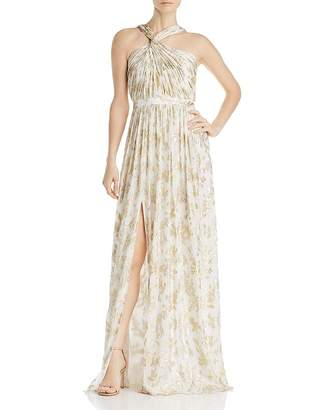 Rachel Zoe Bella Floral-Embroidered Gown