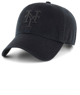Women's '47 Clean Up Ny Mets Baseball Cap - Black $25 thestylecure.com