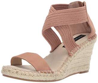 2591aefdfbe Steve Madden STEVEN by Women s Excited Espadrille Wedge Sandal