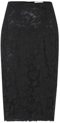 Valentino Lace pencil skirt