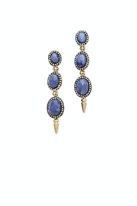 House Of Harlow Blue Drop Earrings