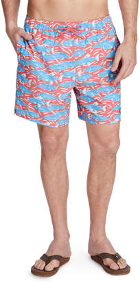Vineyard Vines Swimming With The Fish Chappy Trunks