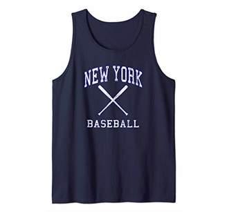 Vintage New York Distressed Baseball Team Championship Tank Top