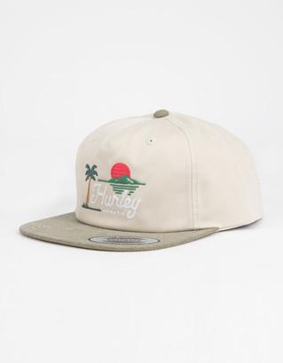 Hurley Horizon Ivory Mens Snapback Hat