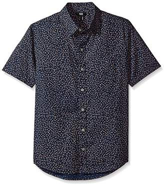 Paige Men's Becker Shirt in Blue Colt