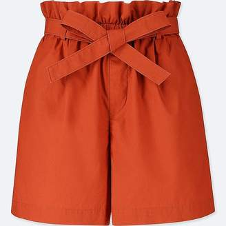 Uniqlo Women's Belted Shorts