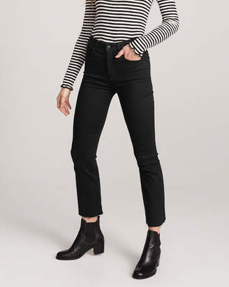 Abercrombie & Fitch High Rise Ankle Flare Jeans