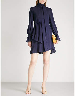 See by Chloe Checked crepe dress