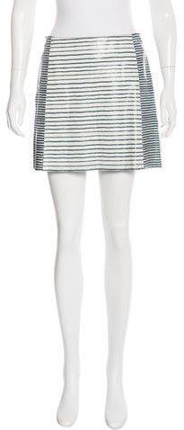 Tory BurchTory Burch Leather Mini Skirt