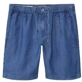 Mango man MANGO MAN Elastic waist linen bermuda shorts
