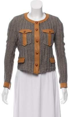 Isabel Marant Leather-Trimmed W Jacket