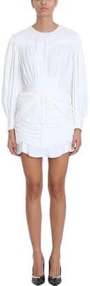 Isabel Marant Unice White Nylon Mini Dress