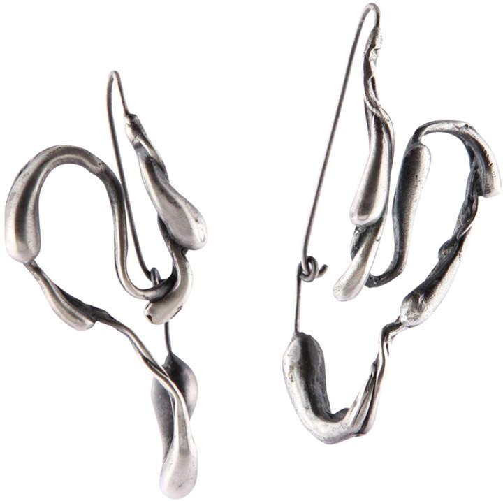 Sprout Hoop Earrings