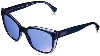 Ralph Lauren Ralph by Women's Plastic Woman Non-Polarized Iridium Square Sunglasses