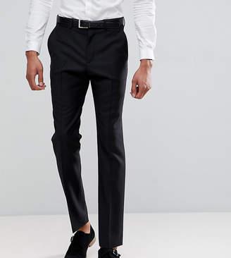 Asos DESIGN TALL Slim Suit Pants In Black 100% Wool