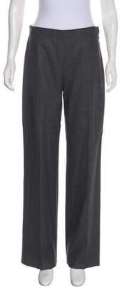 Agnona Virgin Wool-Blend Pants
